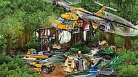 Игрушка детский конструктор BELA City Вертолёт для доставки грузов в джунгли 10713, (1250 дет.)