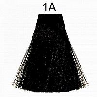 1A (иссиня-черный пепельный) Крем-краска без аммиака Matrix Color Sync,90 ml, фото 1