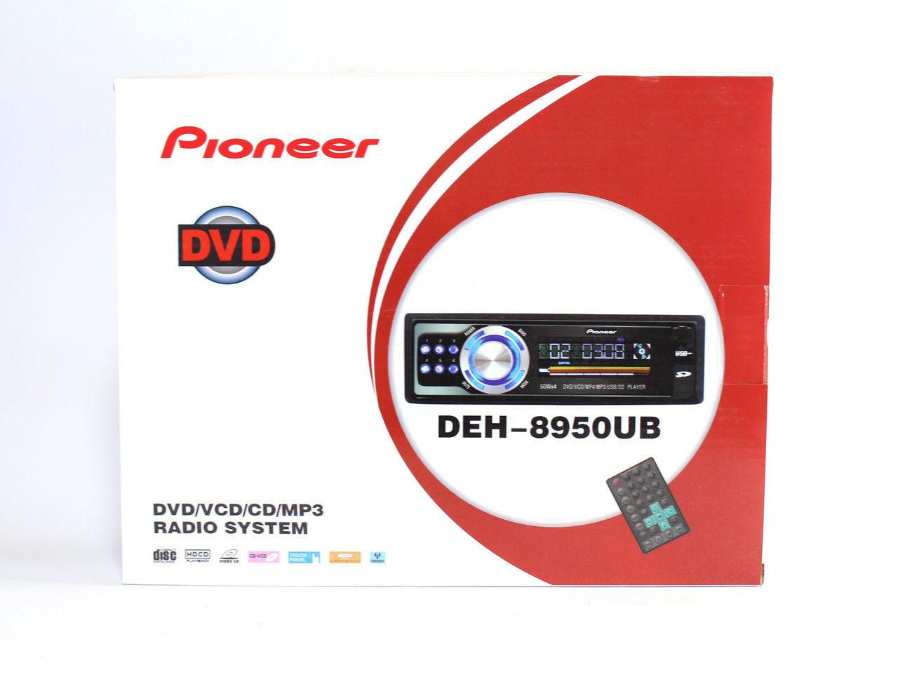 Автомагнитола DVD Pioneer DEH-8950 UB, магнитола Pioneer 8950