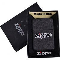 Зажигалка бензиновая Zippo в подарочной упаковке 4738-1