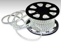 Светодиодная лента LED 5050 W 220V Бухта 100м  белые диоды