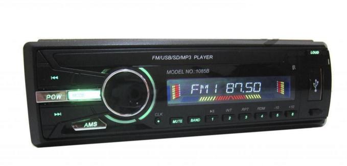 Автомагнитола pioneer 10835b usb mp3, акустика в машину