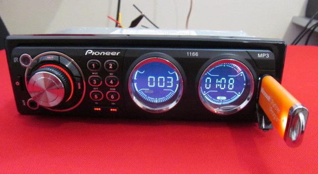 Автомагнитола pioneer 1166 usb mp3, акустика в машину