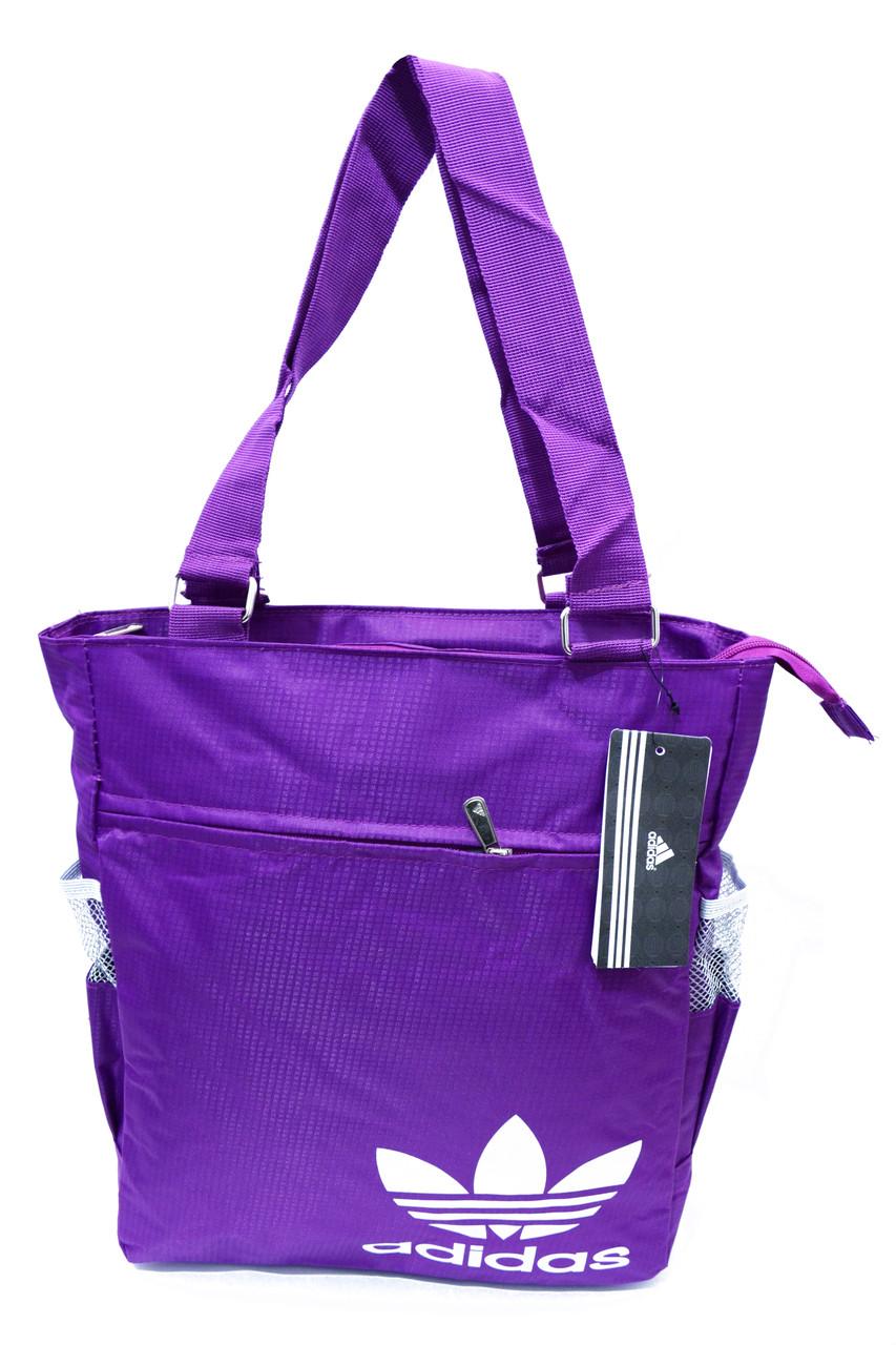 96c8a6a1c91e Сумка наплечная для покупок Adidas 186 Фиолетовый (32x38x10 см) купить оптом  от производителя -