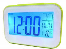 Часы будильник термометр календарь 2620