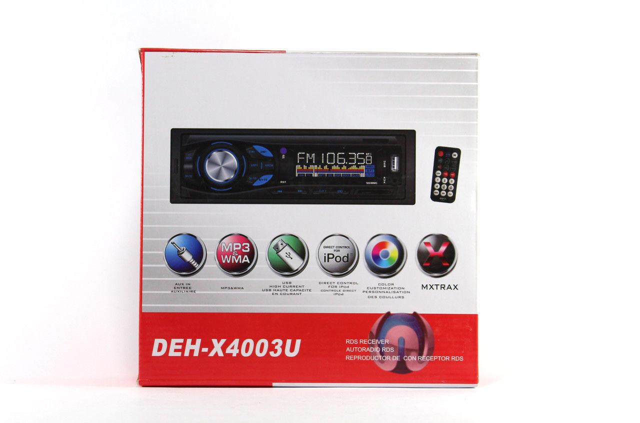 Автомагнитола DEH-X4003U USB MP3 магнитола, акустика в машину
