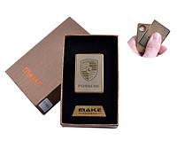 Зажигалка подарочная  4693A-5 (PORSCHE,спираль накаливания, USB)