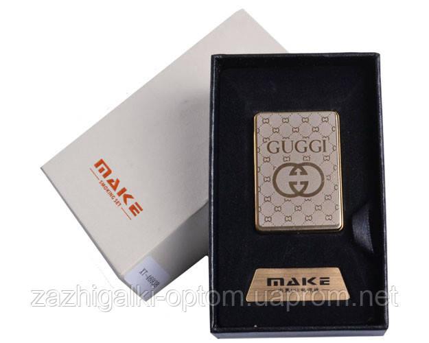 Запальничка подарункова 4693 (Gucci,спіраль розжарювання, USB)
