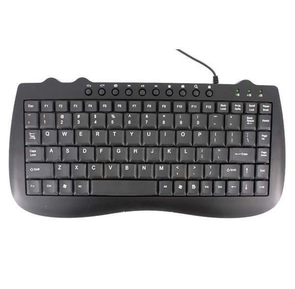 Keyboard mini клавиатура мини, проводная USB