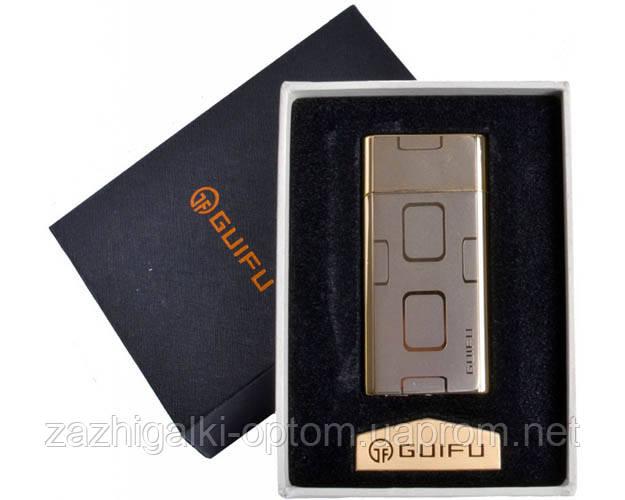 Зажигалка подарочная GUIFU 4690-3 (спираль накаливания, USB)