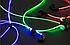 Светящиеся в темноте наушники-гарнитура MDR 619 light , фото 3