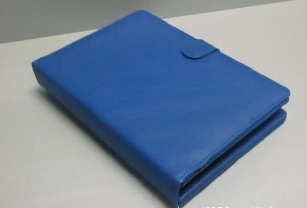 Чехол + клавиатура keyboard 7 blue micro для планшета, синий