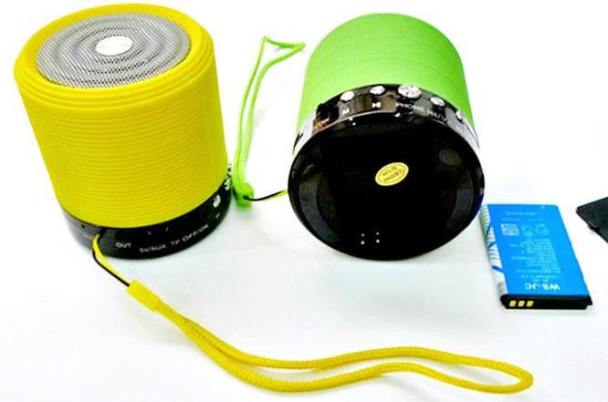 Мобильная портативна колонка, акустика SPS WS 631+вт