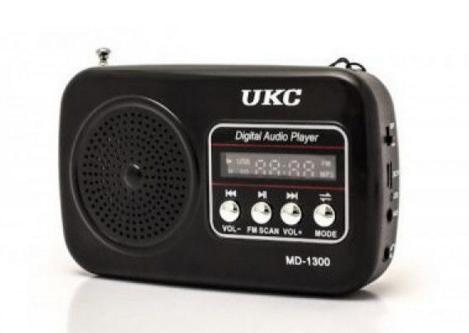 Портативный MP3 Спикер UKC SPS MD 1300 Радио