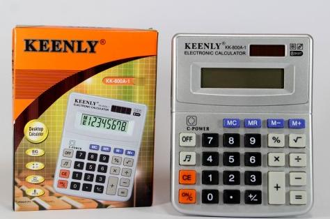Калькулятор настольный kenko kk-800v 8-разрядный
