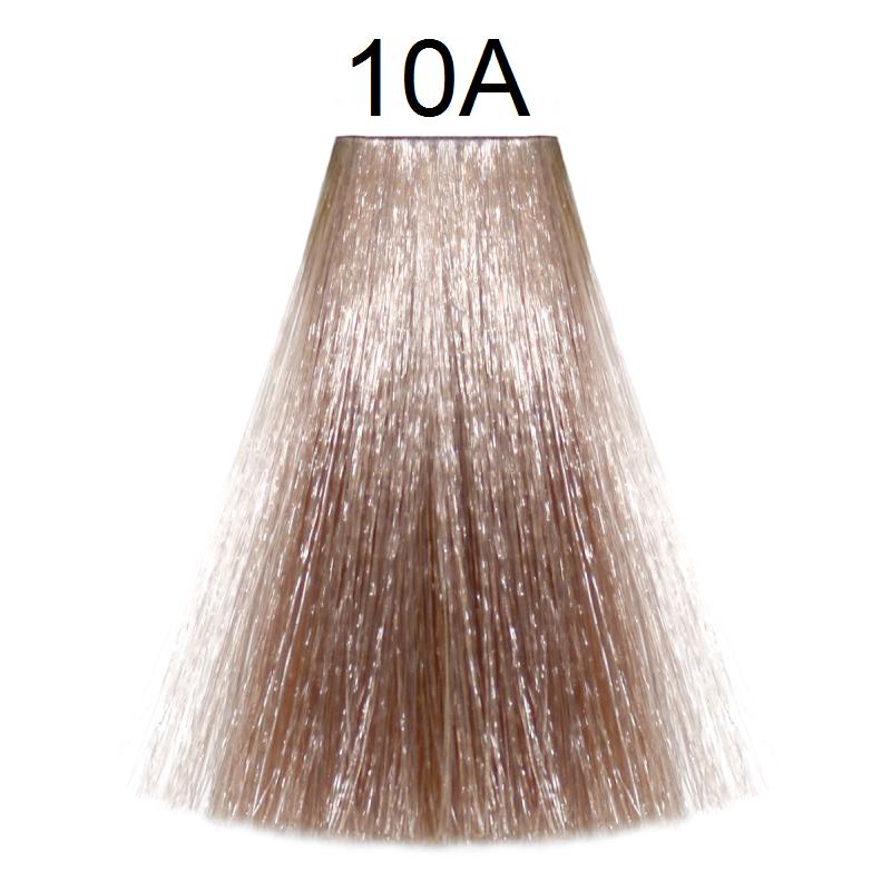 10A (очень-очень светлый блондин пепельный) Тонирующая крем-краска без аммиака Matrix Color Sync,90 ml
