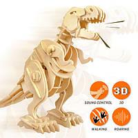 3D пазлы динозавры-роботы