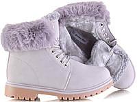 Тёплые и повседневные ботинки