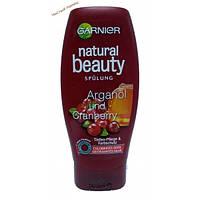 Garnier Natural Beauty бальзам для волос с маслом арганы и клюквы,защита цвета (300 мл.) Франция