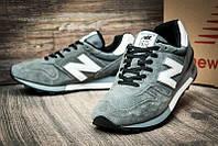Кросівки чоловічі New Balance 1300, сірі з білим лого