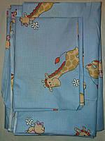 Детское постельное белье -комплект сменного белья 3 в 1