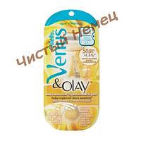 Gillette станок женский для бритья золотой Venus & Olay (USA)