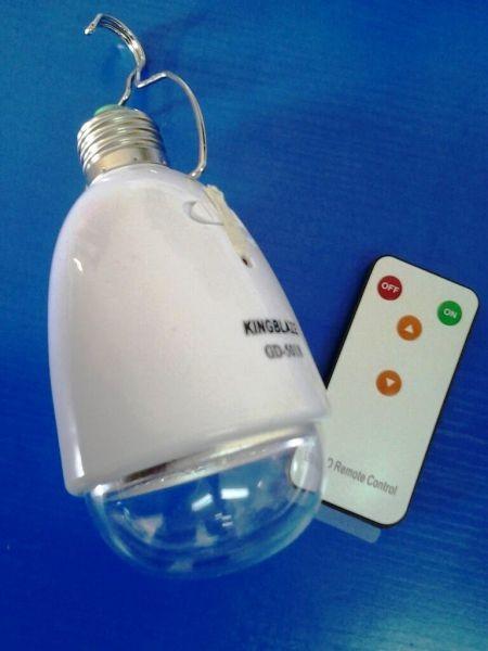 LED лампа с солнечной батареей и ДУ KINGBLAZE GD-5016