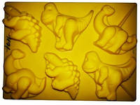 Форма для выпечки Динозавры 30*20*3 см