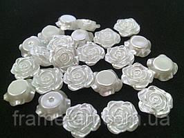 Цветы акриловые Розы 12мм 3365