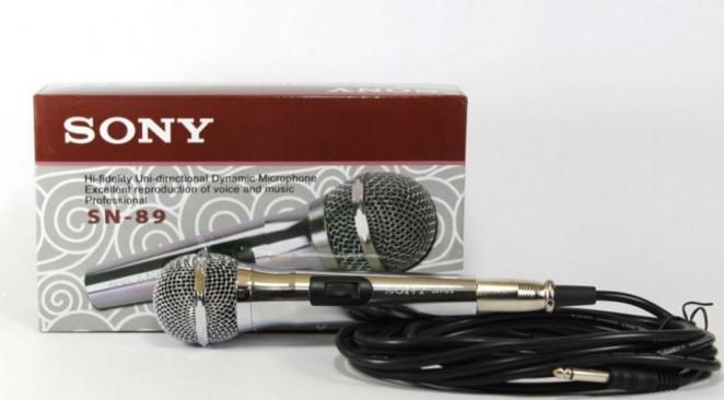 Микрофон DM 89 SONY ручной проводной