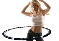 Спортивный массажный обруч Хула Хуп hula hoop 8 секций