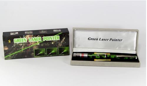 Лазерная ручка - указка LASER GREEN камуфляж