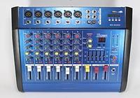 Аудио микшер Mixer BT-6200D. Микшер на 7 каналов!