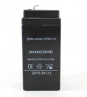 Аккумулятор батарея BATTERY 4V 4.0Ah 20HR бесперебойное питания