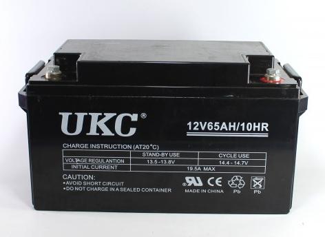 Универсальный гелевый аккумулятор батарея BATTERY GEL 12V 65A