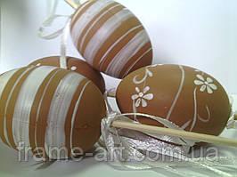 Яйцо пасхальное на палочке 6см 570312