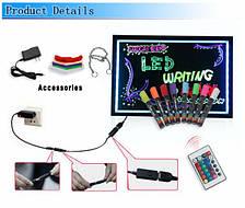 FLUORECENT BOARD 40*60 + adapter + controller Светящийся борд. LED доска Fluorecent Board. Доска для маркера