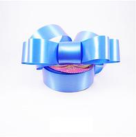 Лента полипропиленовая подарочная 33мм , синий СПП33