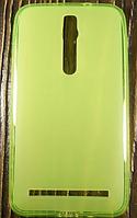 """Силиконовый Чехол """"Light green"""" для Asus Zenfone 2"""