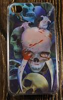 """Пластиковый 3D Чехол """"Monsters"""" для Apple iPhone 4/4S Чехол-Накладка на мобильный телефон"""