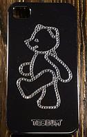 """Пластиковый Чехол """"Bear go"""" для Apple iPhone 4/4S Чехол-Накладка на мобильный телефон"""