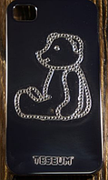 """Пластиковый Чехол """"Bear sit"""" для Apple iPhone 4/4S Чехол-Накладка на мобильный телефон"""