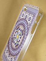 """Пластиковый Чехол """"""""С узорами violet"""" для Apple iPhone 4/4S Чехол-Накладка на мобильный телефон"""