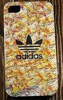 """Силиконовый Чехол """"Adidas"""" для Apple iPhone 4/4S Чехол-Накладка на мобильный телефон"""