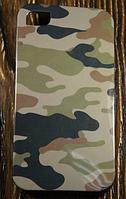 """Силиконовый Чехол """"Camouflage"""" для Apple iPhone 4/4S Чехол-Накладка на мобильный телефон"""