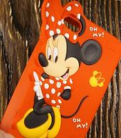 """Силиконовый Чехол """"Minnie"""" для Apple iPhone 4/4S Чехол-Накладка на мобильный телефон"""