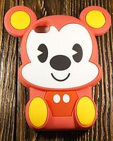 """Силиконовый Чехол """"Pooch"""""""" для Apple iPhone 4/4S Чехол-Накладка на мобильный телефон"""
