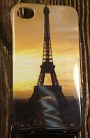 """Силиконовый Чехол """"Paris"""" для Apple iPhone 4/4S Чехол-Накладка на мобильный телефон"""
