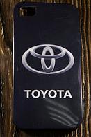 """Силиконовый Чехол """"TOYOTA"""" для Apple iPhone 4/4S Чехол-Накладка на мобильный телефон"""