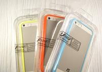 """Бампер со стеклом """"Szlf bumper glass"""" для Apple iPhone 5/5S Чехол для айфона"""